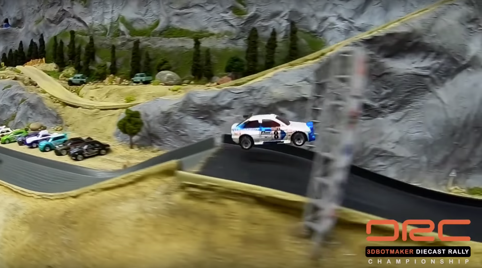 These 'Diecast Rally Championship' Videos Are Way Too Good