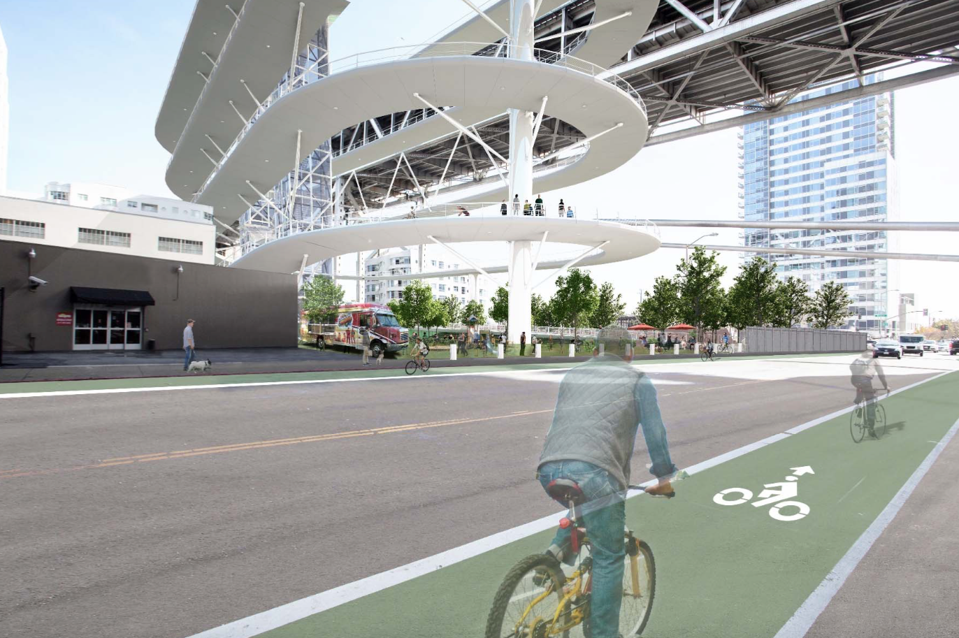 This Ridiculous Ramp Is SF's Best Idea for a Bike Path Across the Entire Bay Bridge
