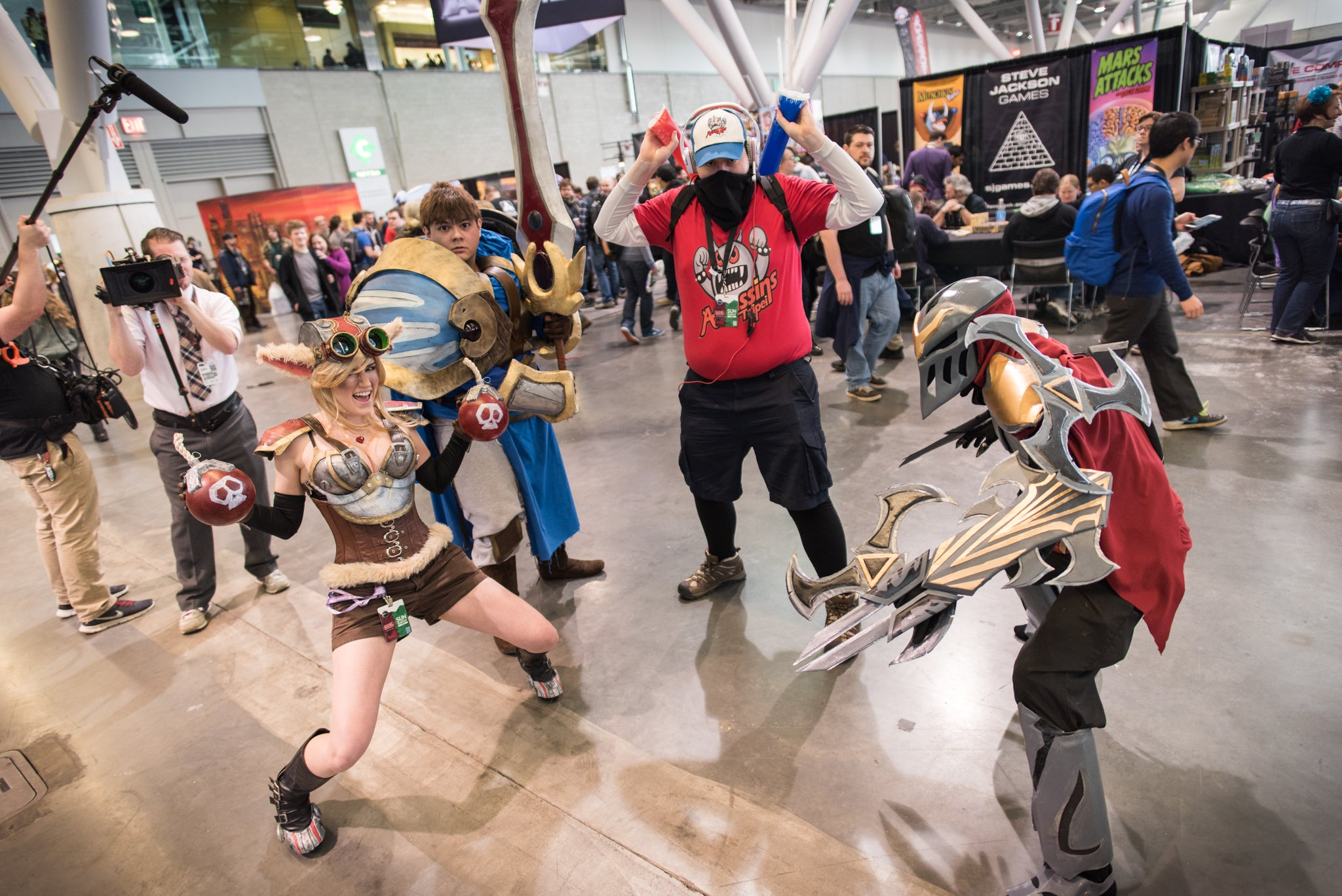 The Coolest Cosplay at PAX East, Day 3