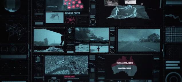Here's a satirical glimpse of Earth's dystopian future