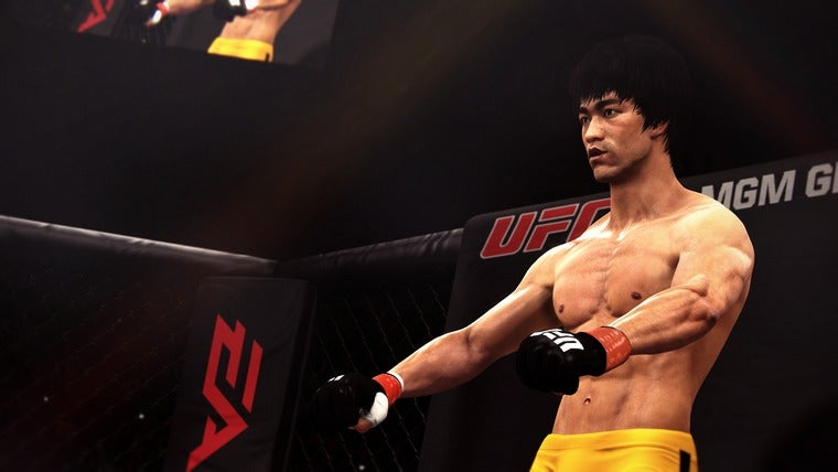 Meet The Mystery Fighter of EA Sports UFC: Bruce Lee