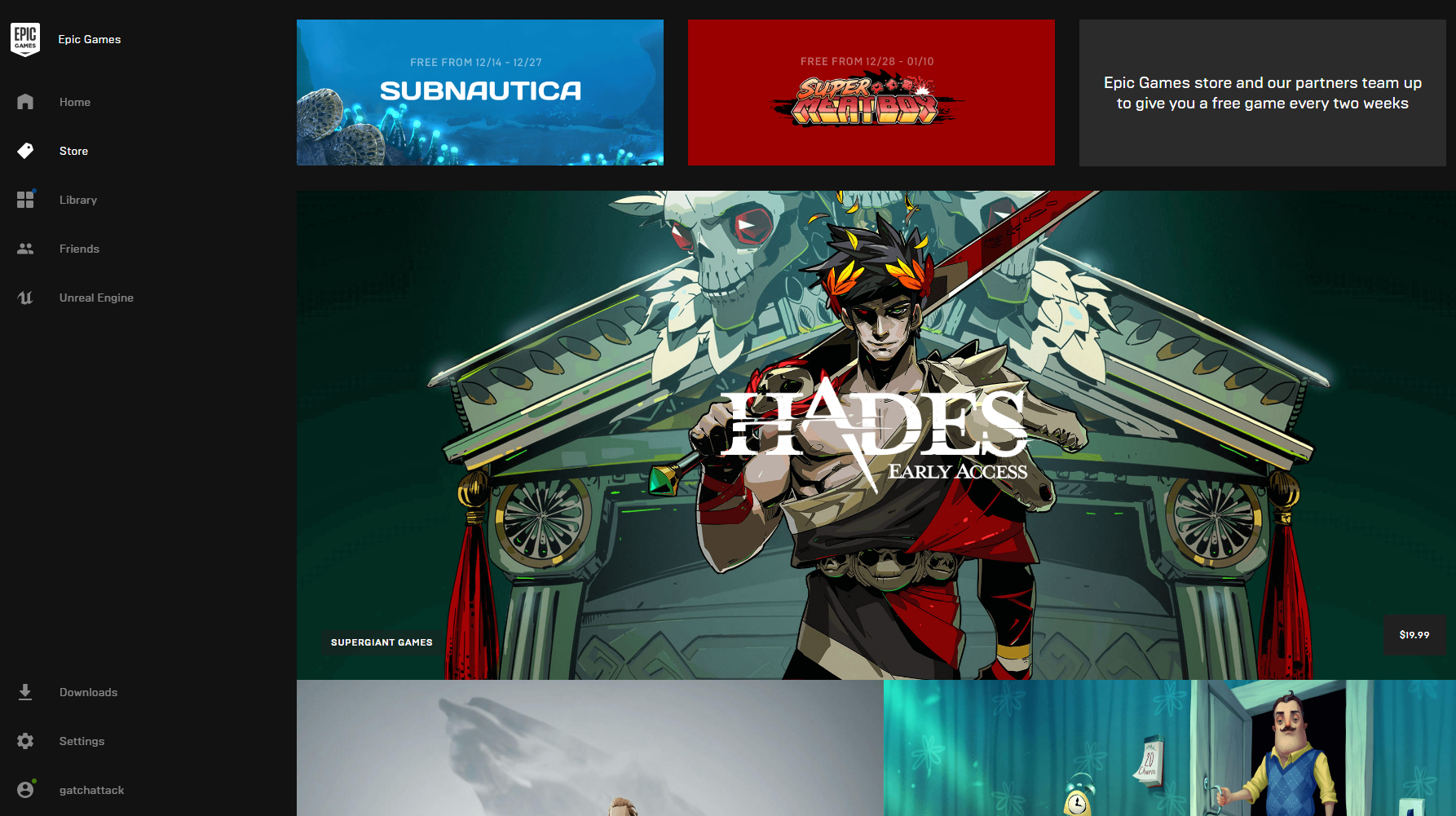 Epic's New PC Game Store Is Making Waves Even Without A Lot