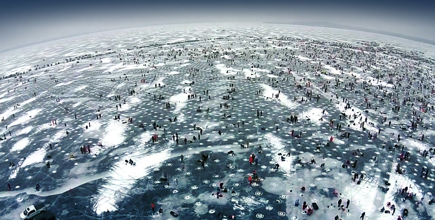 The world's largest ice fishing competition looks pretty freaking nuts