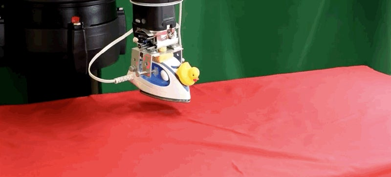 We All Need a Robot Like This to Iron Our Clothes
