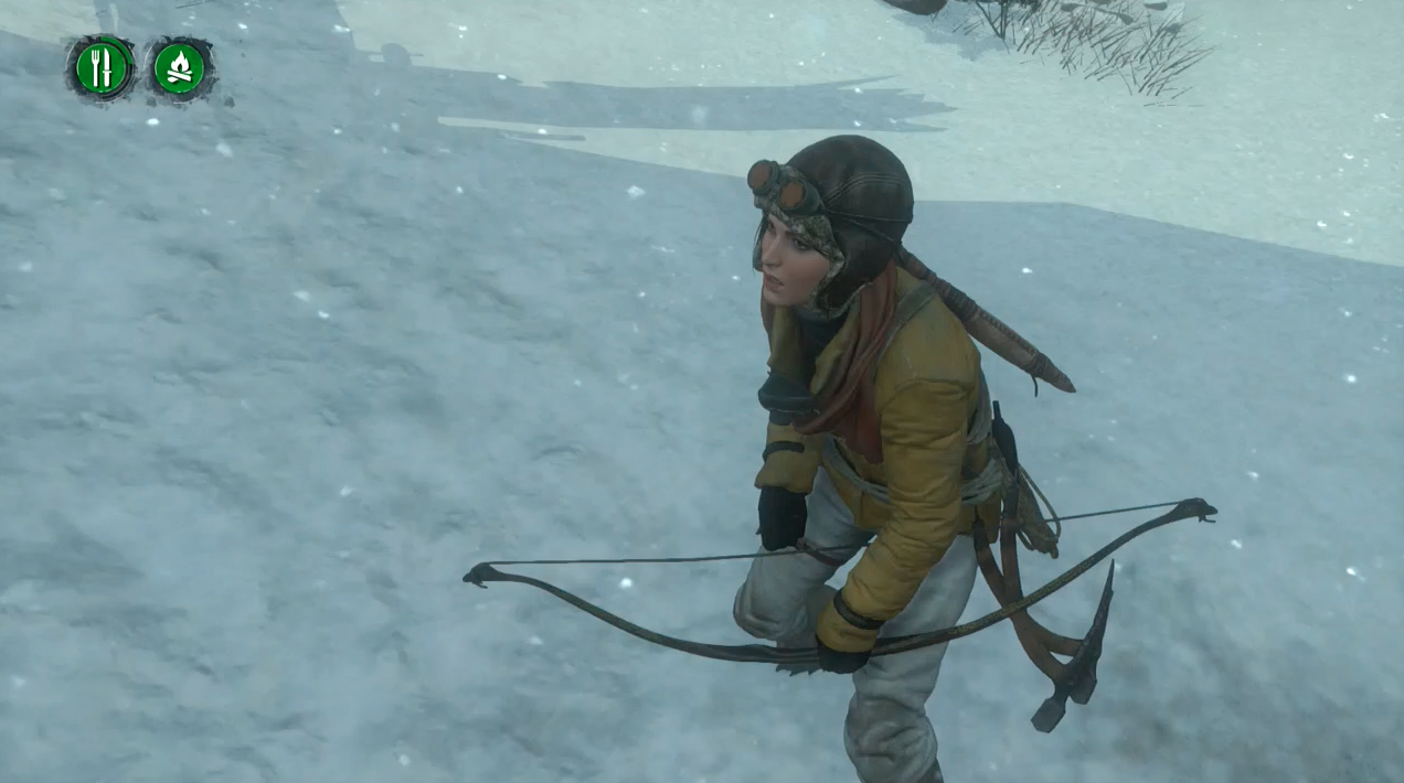 Lara Croft Can Starve To Death In Rise of The Tomb Raider's Newest Mode