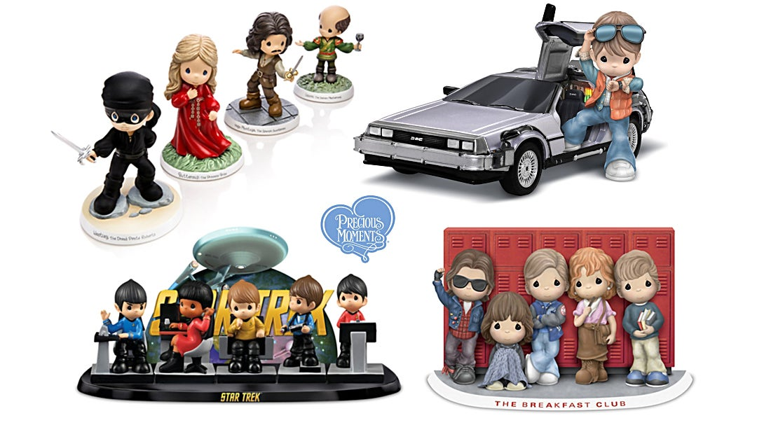 These New Pop Culture Precious Moments Statues Give You And Your Grandma Something To Collect Together
