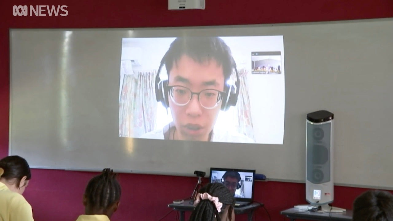 Australian High School Teacher Holds Class By Videochat While In Coronavirus Quarantine