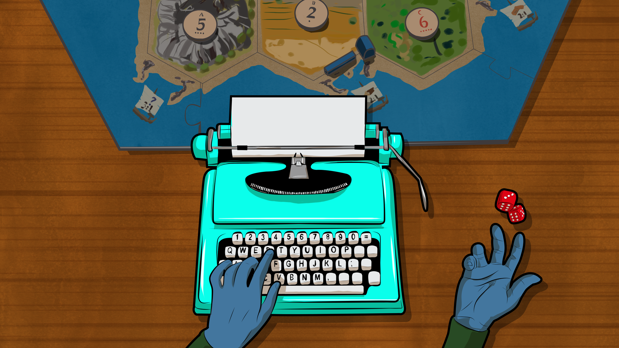 How To Use Tabletop Games To Become A Better Writer