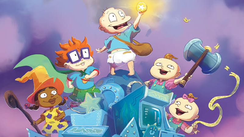 The Rugrats Are Getting Downright Fantastical In Their -8279