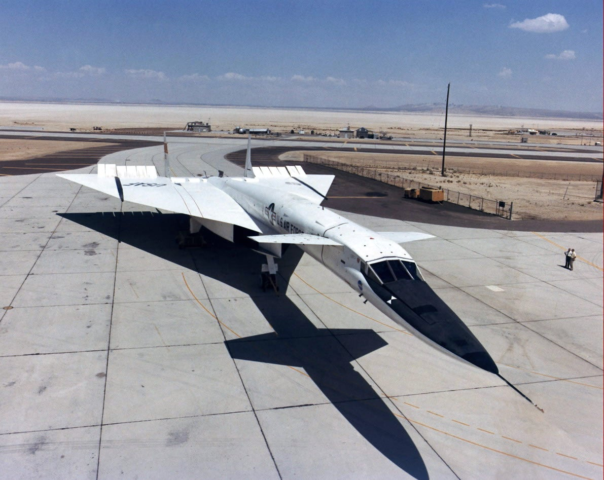 This may be the coolest, most futuristic bomber ever built