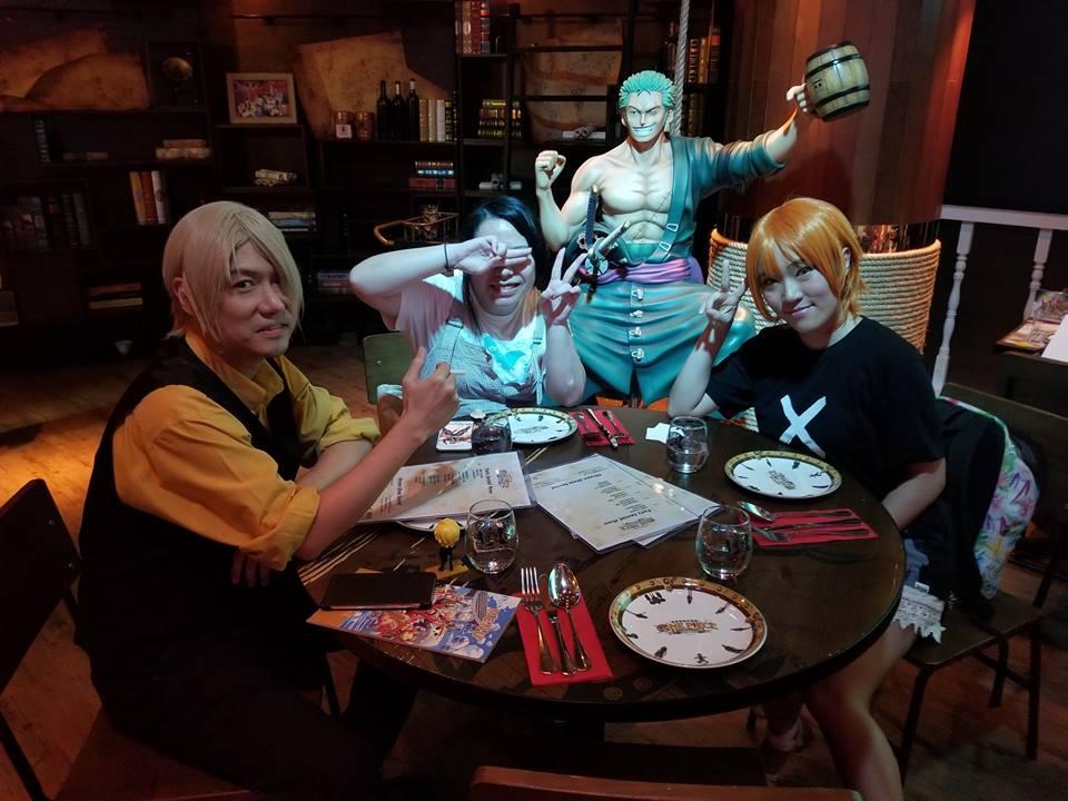 Inside Hong Kong's One Piece Restaurant