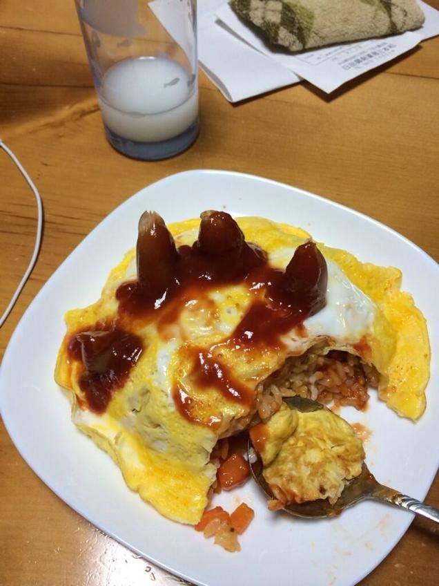Zombie Omelets Are Both Terrifying and Delicious