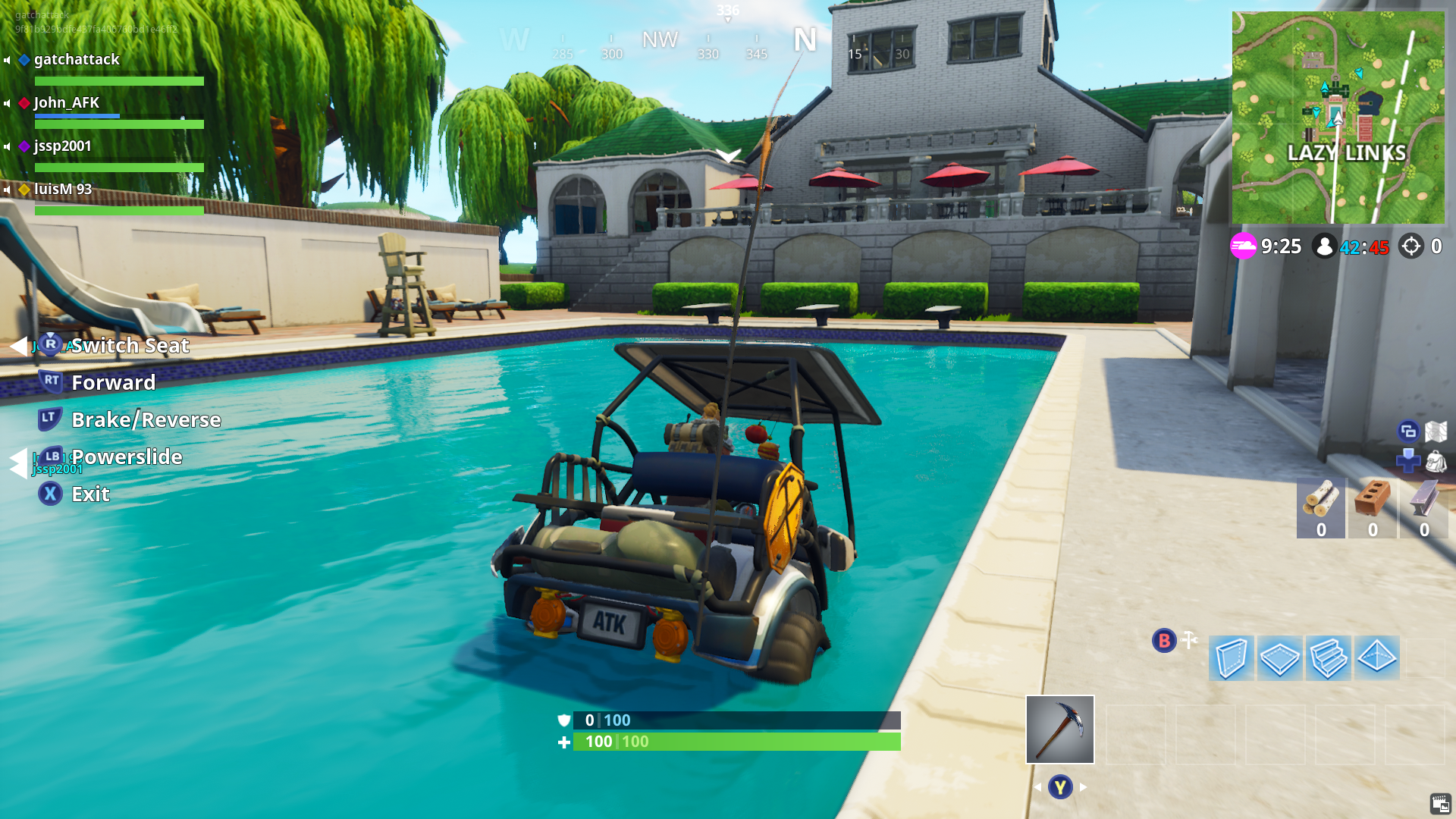 The Only Rule Of Fortnite Golf Is Stay Alive Kotaku