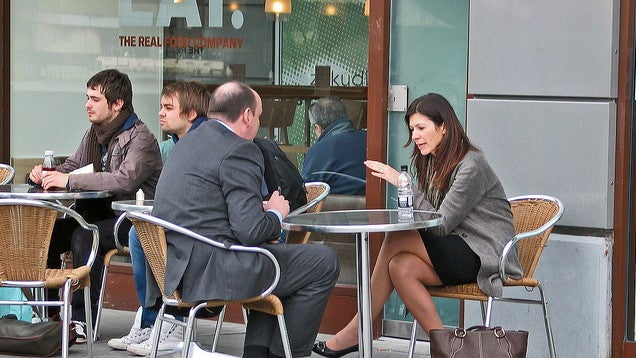 Sell Someone on Your Idea by Taking Them Out to Lunch