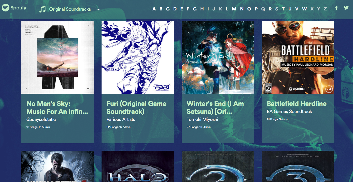 The 5 Best Soundtracks On Spotify's New Gaming Portal
