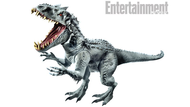 Here's What That New Super-Dinosaur From Jurassic World Looks Like