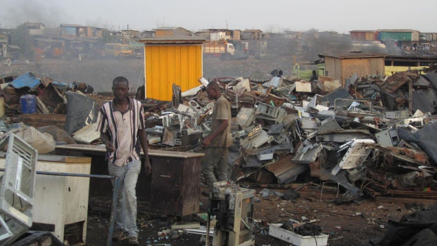 Humans Threw Out 92 Billion Pounds of Electronics Last Year