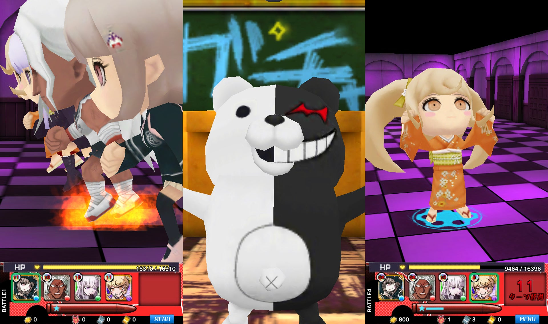 The New Danganronpa Smartphone Game is Basically Billiards