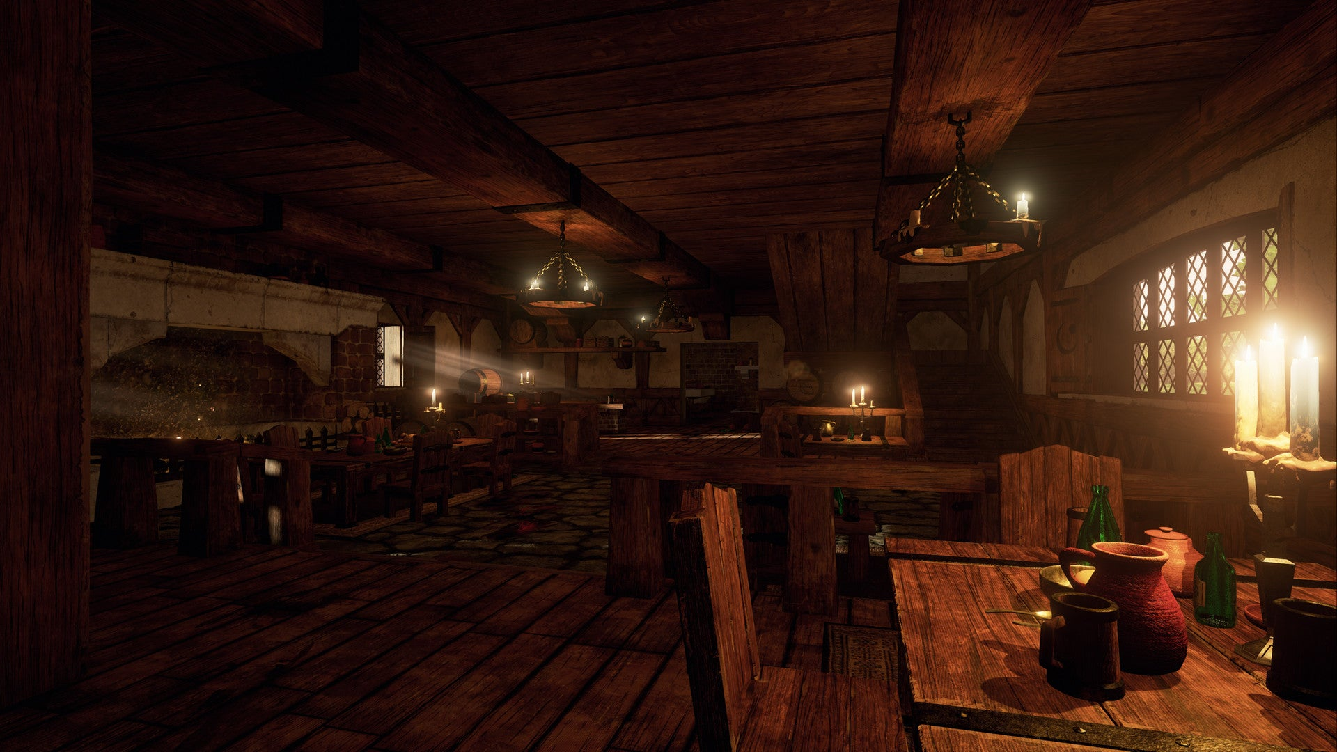 Wow S Goldshire Inn Looks Great In Unreal Engine 4