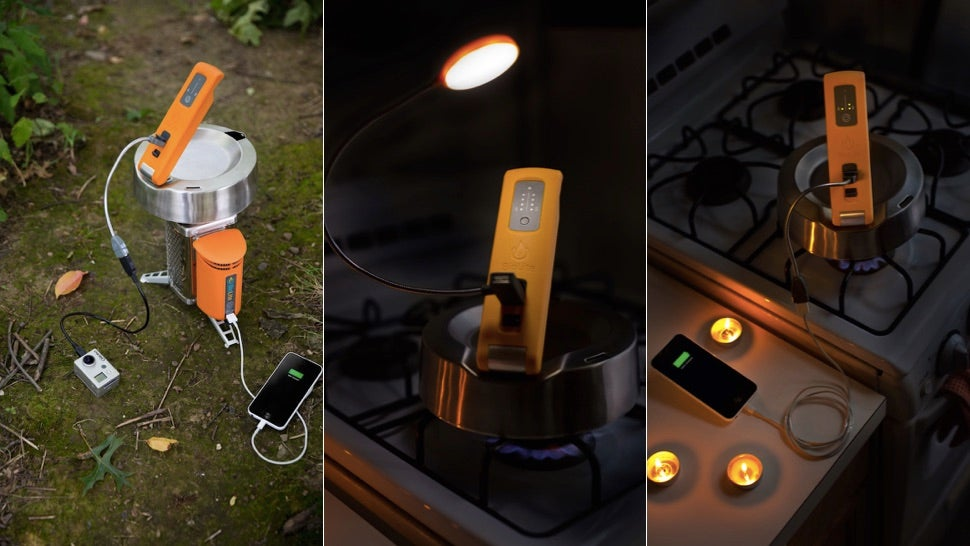 BioLite KettleCharge: Charge Your iPad With Boiling Hot Water
