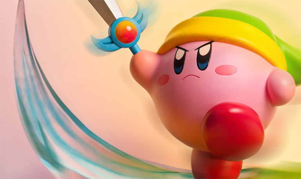 A Line Of Statues Based On Kirby Outfits? Oh No.