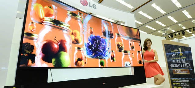 LG's 105-Inch 4K TV Costs a Breathtaking $US120,000