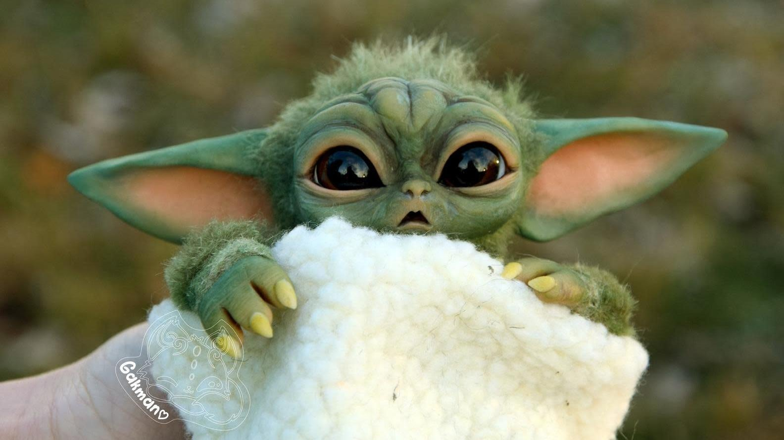 Of Course There's A 14-Month Waitlist For This $430 Unofficial Baby Yoda Toy