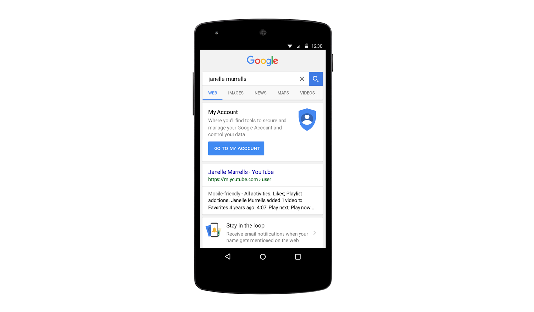 Googling Yourself Is About To Be More Useful