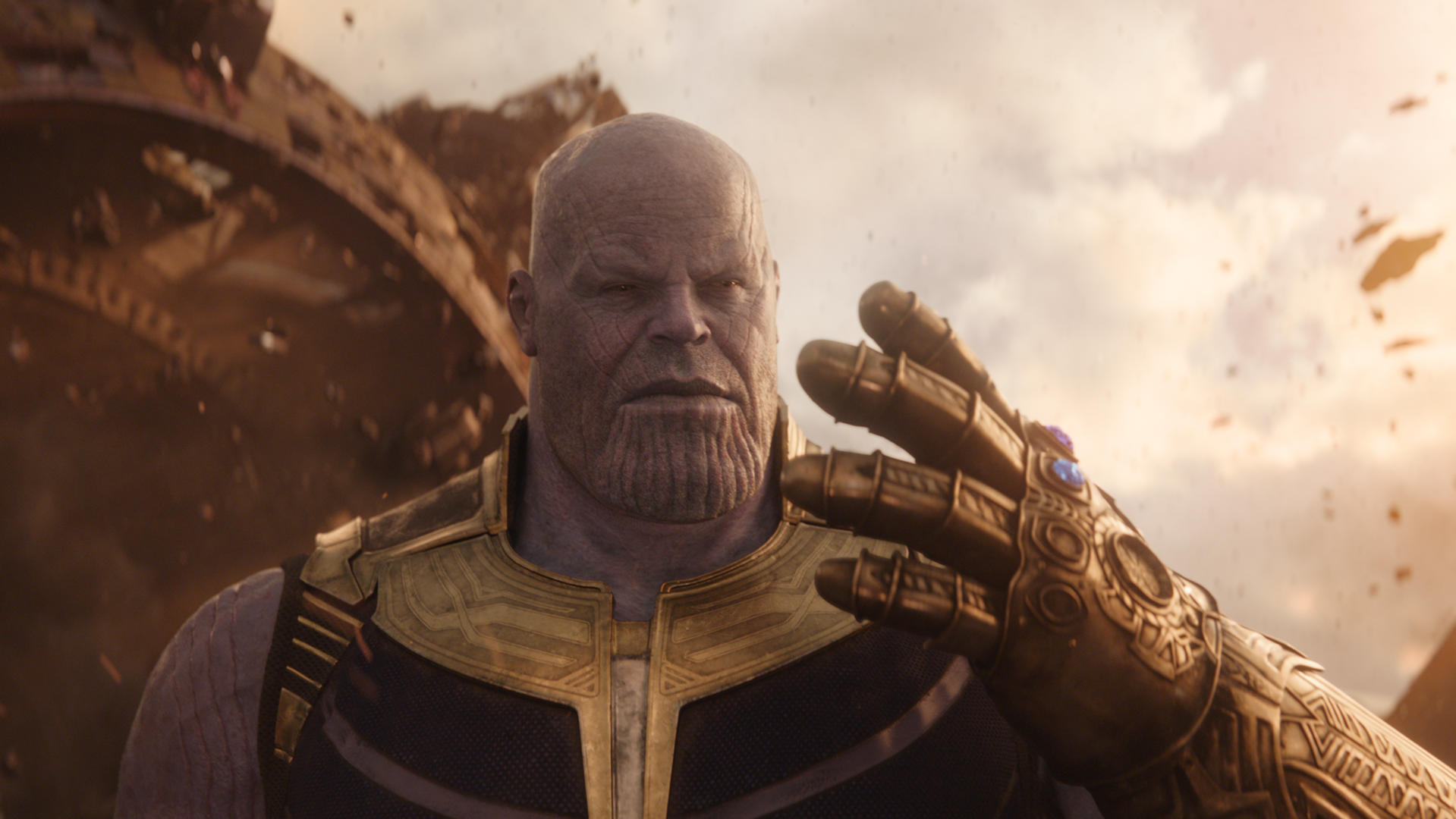 This Pencil-Drawn Thanos Is Beautiful And Very Angry