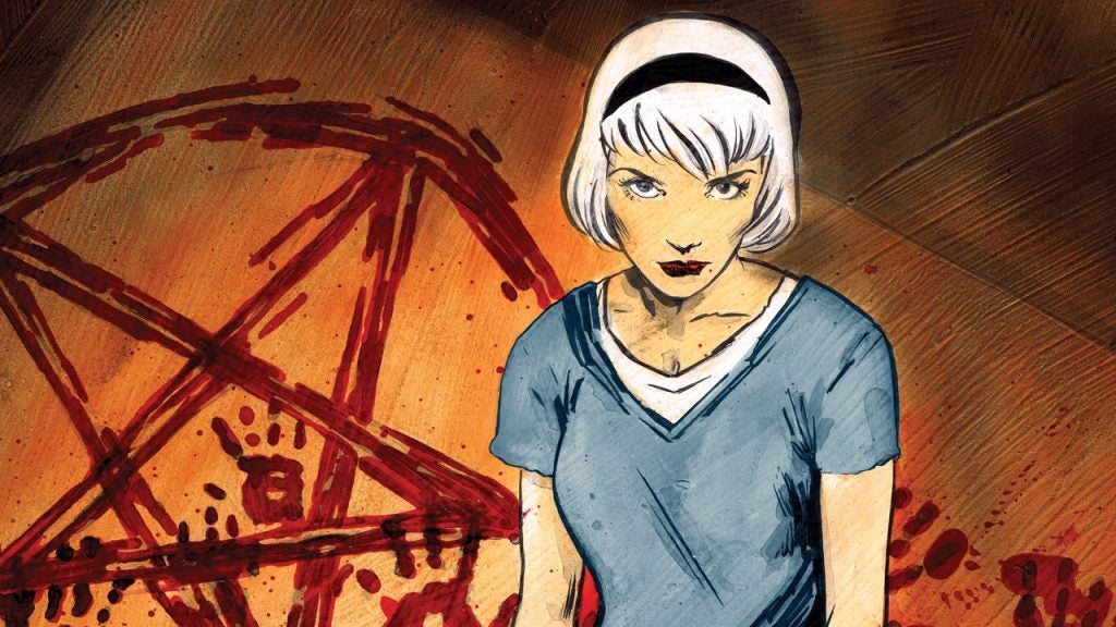 A Seriously Satanic Sabrina The Teenage Witch TV Series Is Coming To The CW