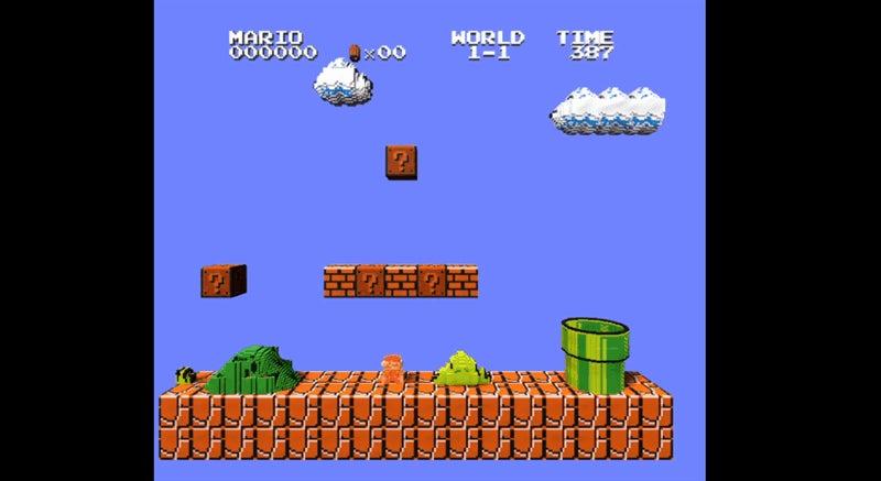 NES Emulator Transforms Classic Games Into Awesome 3D Sprites
