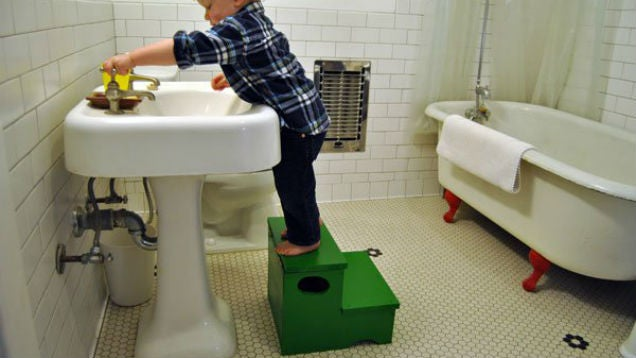Build A Step Stool For Your Kids That Doubles As Storage