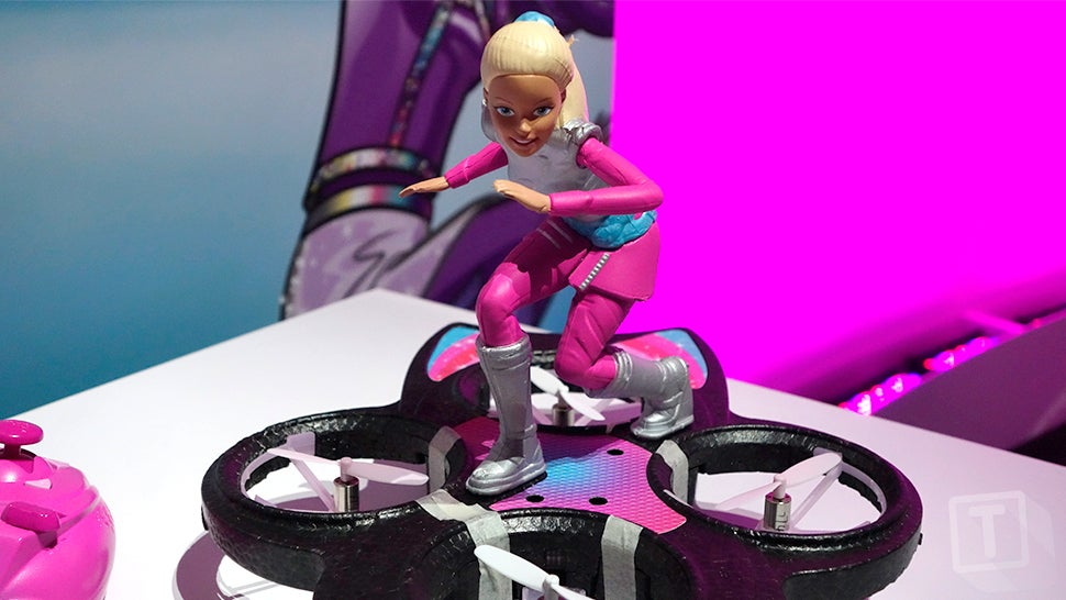 Even Barbie Has a Hoverboard Now, But Hers Actually Flies
