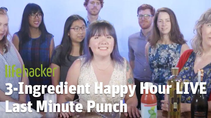 3-Ingredient Happy Hour: Last Minute Punch