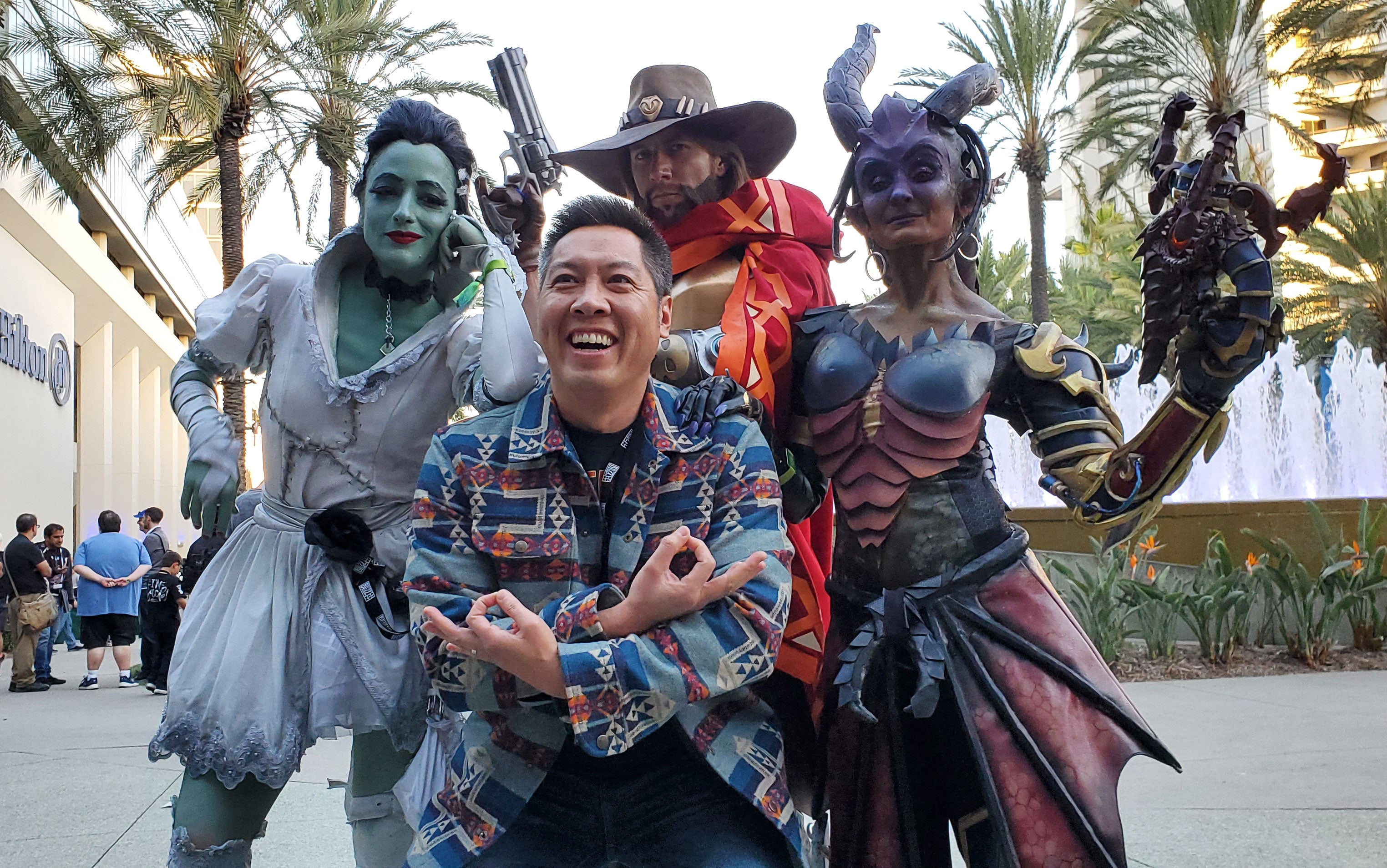 Overwatch Voice Actors Hit BlizzCon Cosplaying As Their Characters