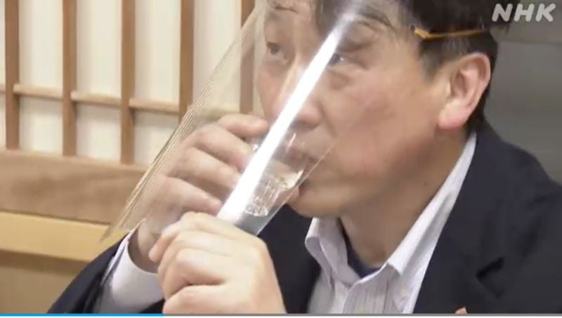 In The Age Of Covid-19, Japanese Drinking Parties Look Complicated