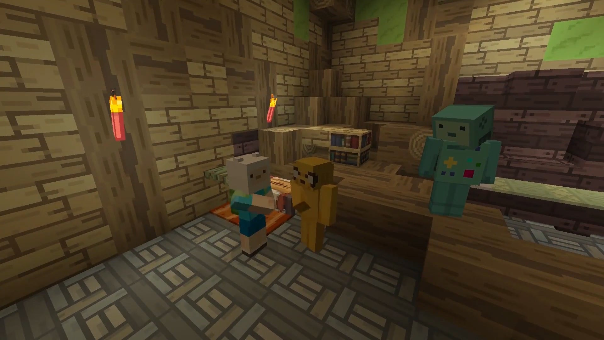 It's Adventure Time In Minecraft