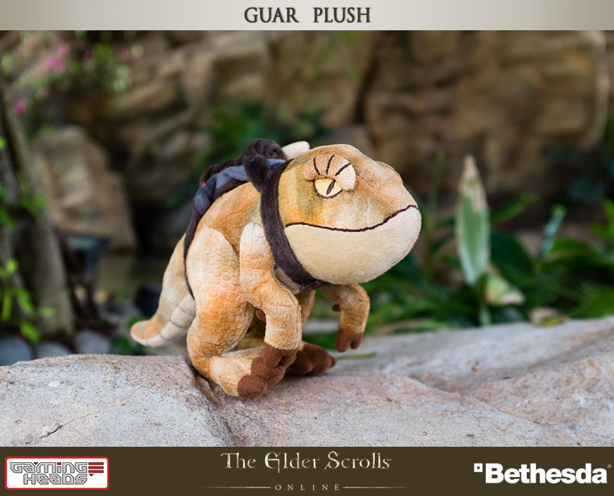 Plush Elder Scrolls Pack Guar Probably Won't Bite Your Head Off