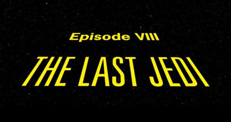 What The Hell Is The OpeningCrawl ForThe Last Jedi Going To Be?