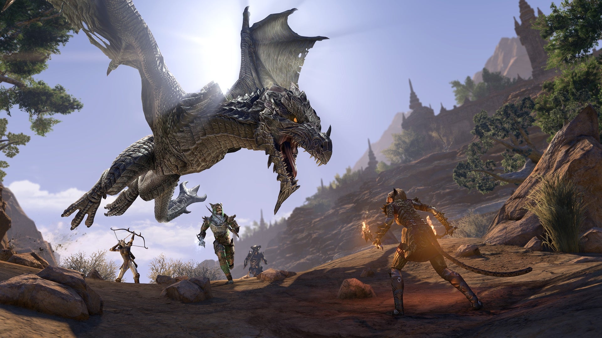 The Elder Scrolls Online: Elsweyr Adds A Shot Of Cat Charisma And A Lot Of Dragons
