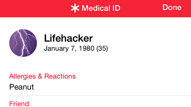 Fill Out Your iPhone's Health Information in Case of Emergencies