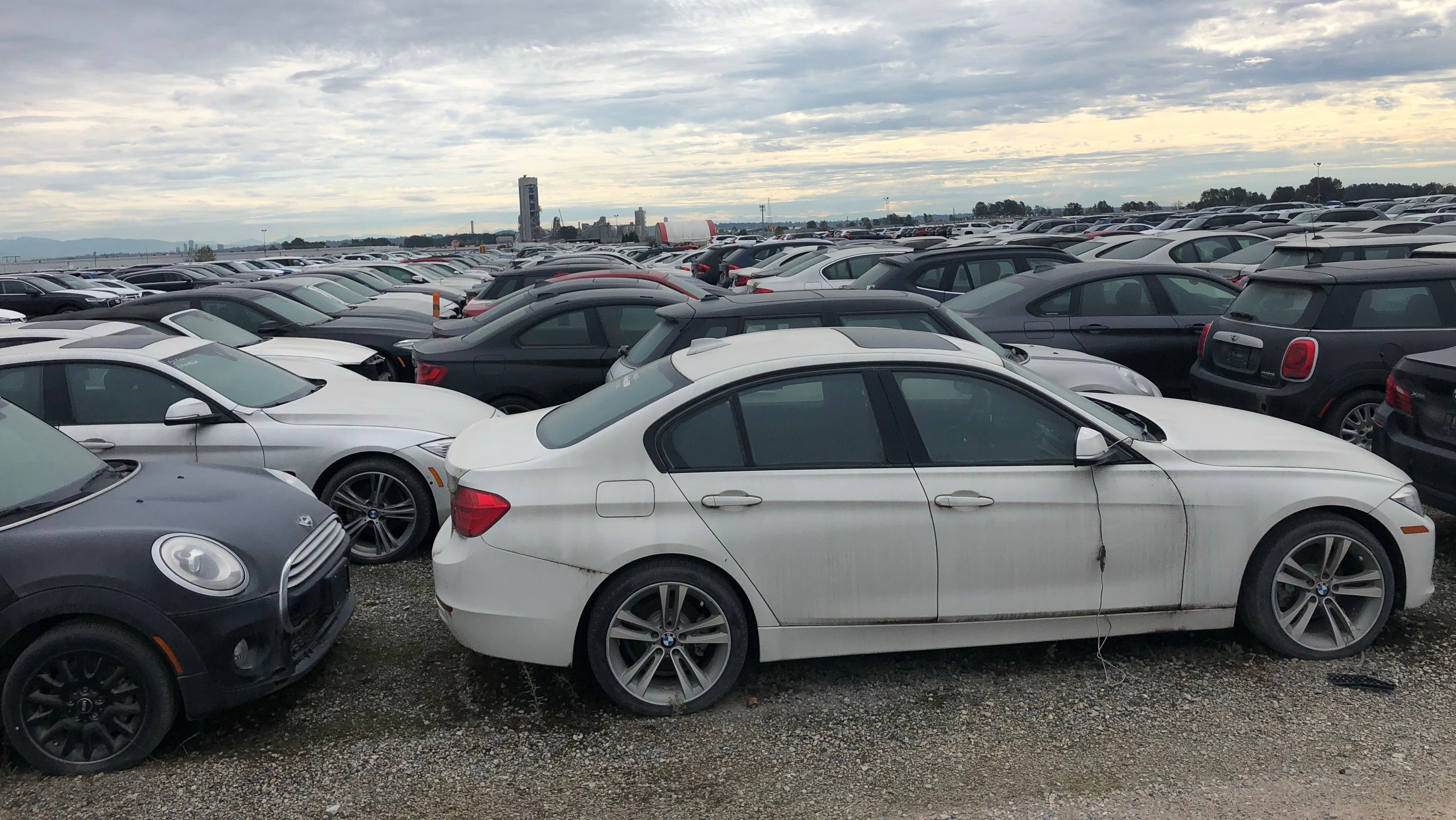 Nearly 3,000 Recalled Brand New BMWs And Minis Have Just Been Sitting In An Auction Yard For Over Four Years