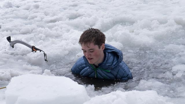 We Tested Waterproof Down By Jumping in a Frozen Lake