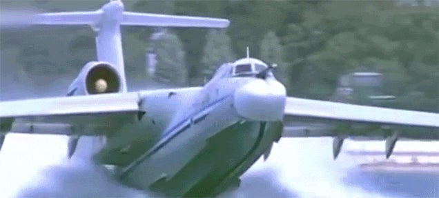 Check Out All the Largest Flying Boats in History