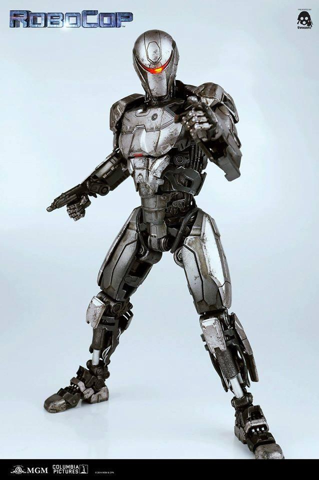 Super-Articulated Robocop EM-208 Action Figure
