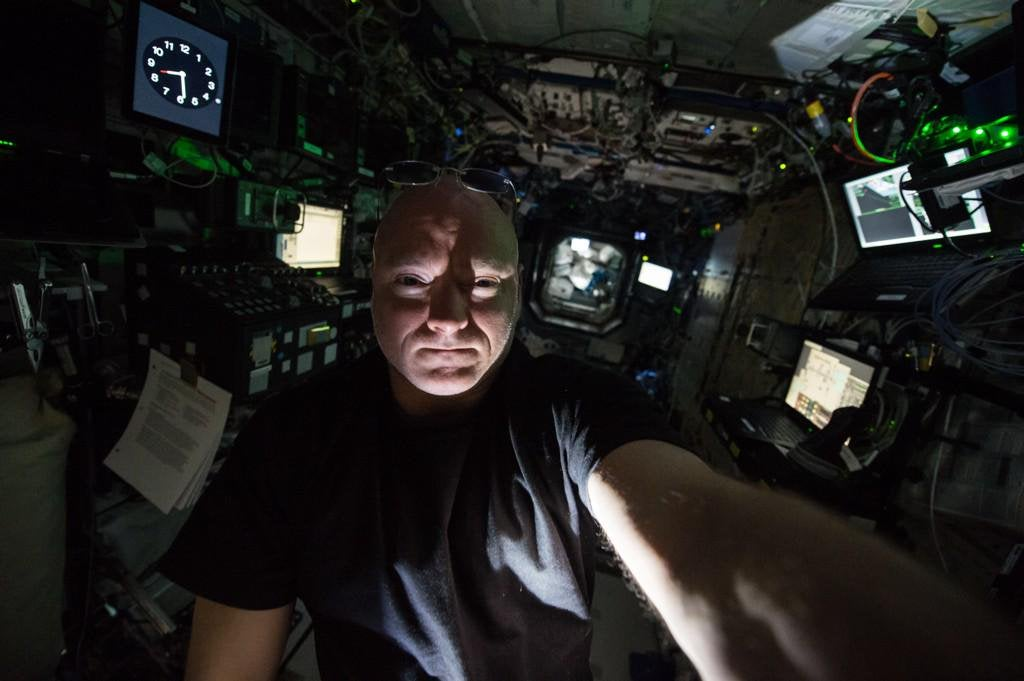 Astronaut Scott Kelly on Liquid Salt, a Stinky Station, and Sleeping in Freefall