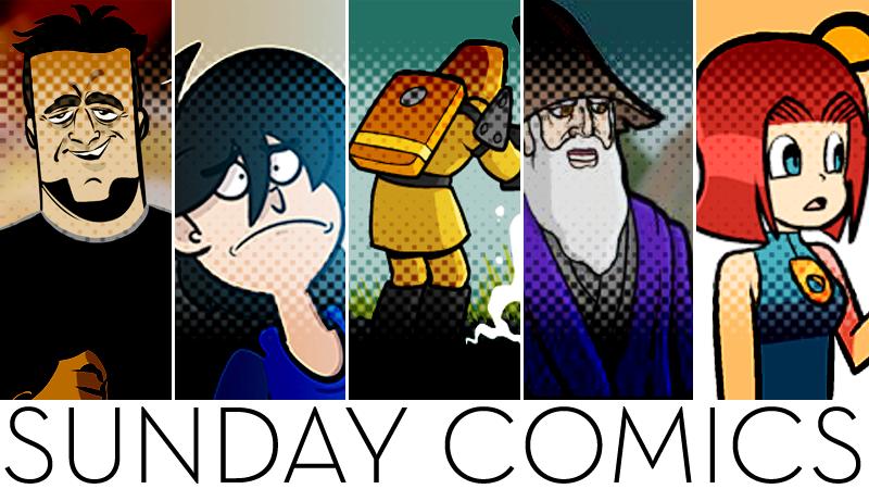 Sunday Comics: Totally Hidden
