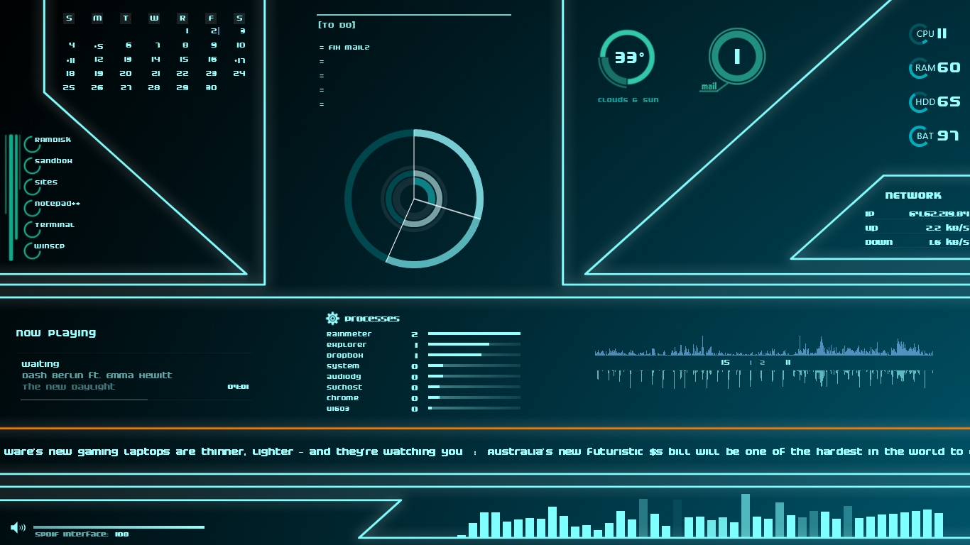 The TRON Desktop