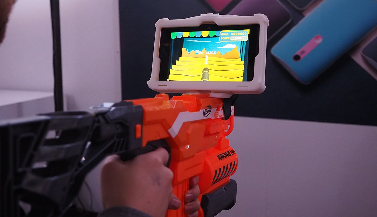 Getting Weird With Google's Project Tango Tech