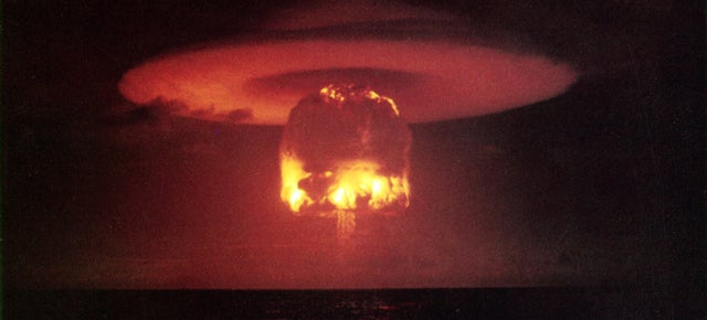 Even a Small Nuclear Showdown Would Mean Worldwide Disaster